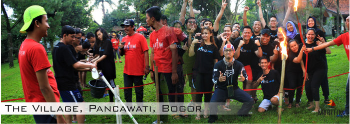 Team Building The Village Pancawati Bogor