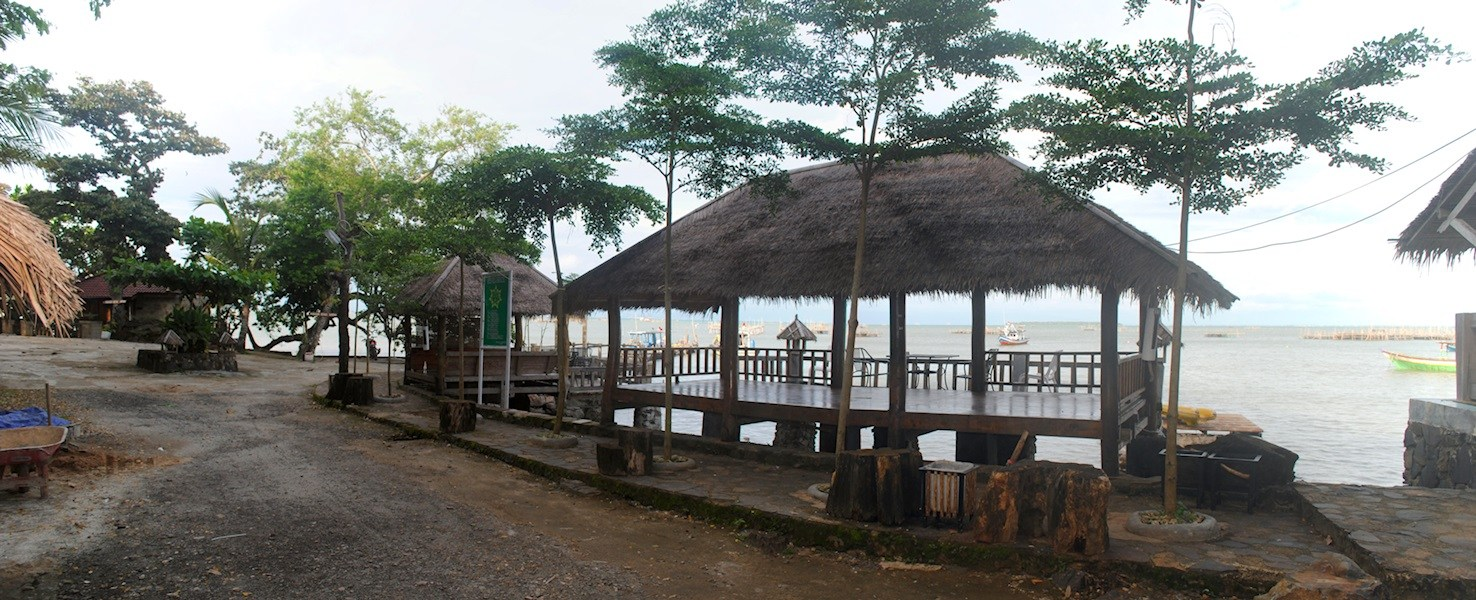 tempat outbound di anyer Nelayan Cottage