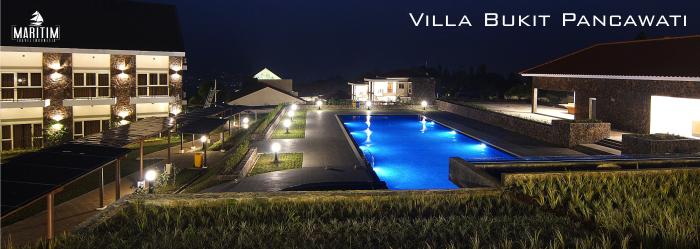 outbound villa bukit pancawati bogor