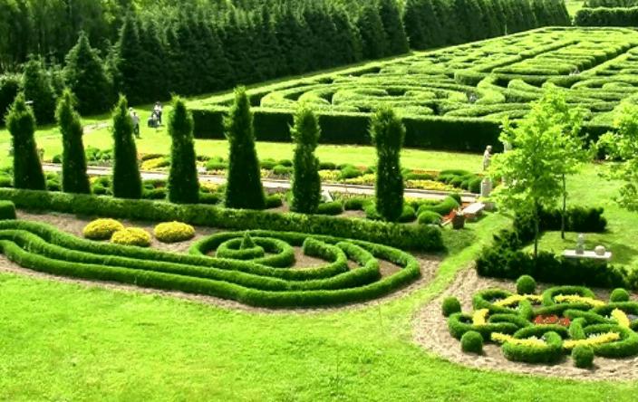taman labirin Hocktulus Spectabilis Gardens