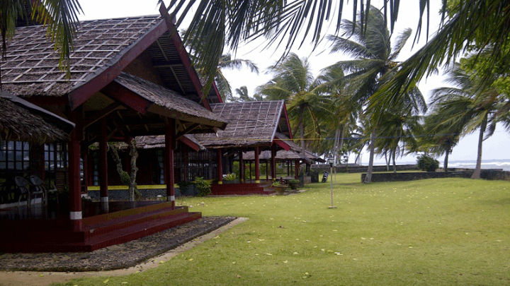 tempat outbound di anyer Mutiara Carita Cottage