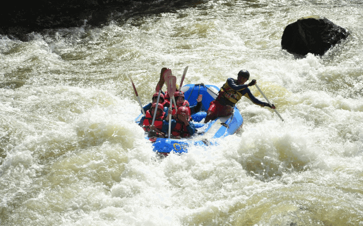 tempat rafting terbaik Sungai Serayu Banjarnegara Jawa Tengah