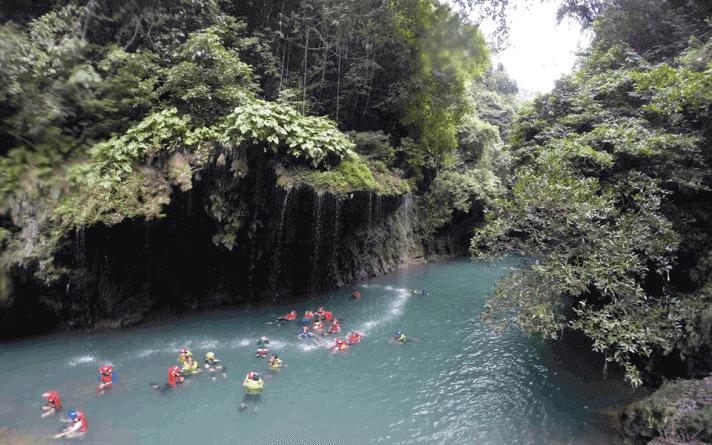 tempat rafting terbaik green canyon ciamis jawa barat