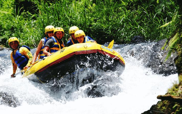 tempat rafting terbaik sungai ayung bali