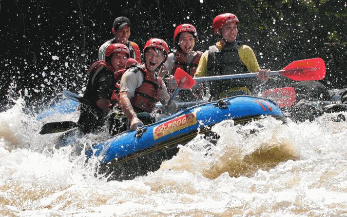 tempat rafting terbaik sungai progo magelang
