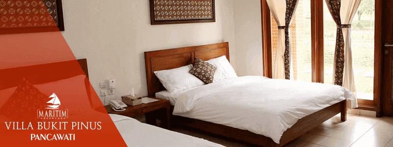 outbound villa bukit pinus pancawati bogor harga