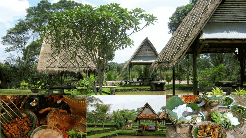 wisata kuliner di Bogor Desa Sawah Resto dan Villa