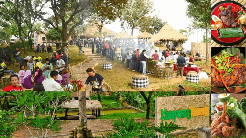 wisata kuliner di Bogor Kampoeng Koneng